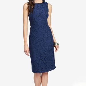 RACHEL Rachel Roy Lace Sheath Dress Blue